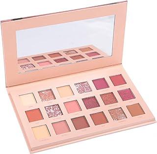 18 Colores Paleta De Sombra De Ojos Mate Y Brillo, Maquillaje Profesional Sombra De Ojos Cosmético En Polvo