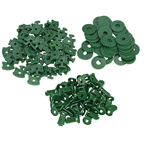Greenhouse Fixing Twist Clips Plastic Shading Clips/Washers/Extenders Clips/Corner Clips for...