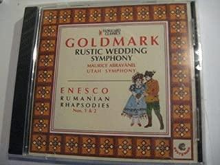 Goldmark - Rustic Wedding Symphony, Enescu - Rumanian Rhapsodies (Vanguard) by N/A (0100-01-01)