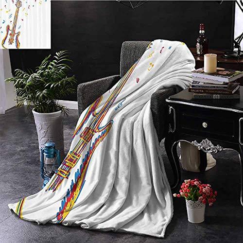 Stoel Deken Abstract Art Style Retro Ontwerp van Drums op Grunge Achtergrond Patroon Print Kampeerdeken - het gooien van een deken