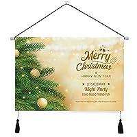 タペストリー 掛け軸 クリスマス 掛け物 掛けじく 模様替え 飾り用 装飾用 飾り付けセット 壁画 装飾用品 キャンバス印刷 アートポスター インテリア 部屋飾り 壁飾り 個性 装飾画 人気 おしゃれ