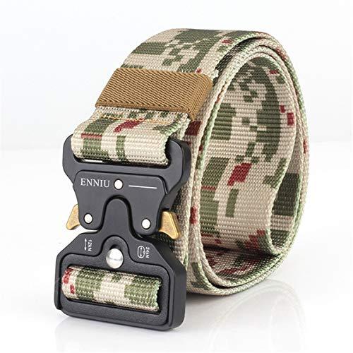 Cinturón táctico de cuerda táctica, cinturón militar Molle para ...