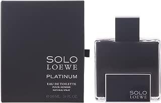 Loewe Solo Platinum Men's 3.4-ounce Eau de Toilette Spray