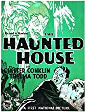 The Haunted House Movie Poster (27 x 40 Inches - 69cm x 102cm) (1929) Style B -(Louise Fazenda)(Chester Conklin)(James Ford)(Thelma Todd)(William V. Mong)(Emile Chautard)