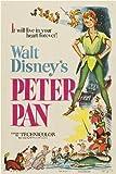 Peter Pan Foto-Nachdruck eines Filmposters 40x30cm