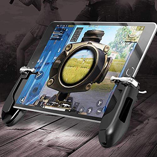 YICHUMY Mobile Game-Controller Tablet Grip Mobile Ziel-Feuerauslöser Taste für 10,2-32,9 Zoll Pad Tablet LB RB kompatibel mit PUBG/Fortnite/Messer Out/Regeln des Survivals.