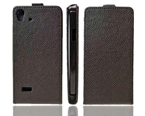 caseroxx Flip Cover für Medion Life X5001, Tasche (Flip Cover in schwarz)