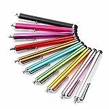 JOYBUY 10 lápices capacitivos para iPhone, iPad, Samsung, HTC, Blackberry, Kindle y otros dispositivos electrónicos de pantalla