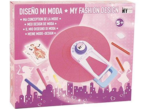 NY FASHION TOYS Manualidades Rueda Diseño de Moda con Accesorios