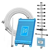 Aclogue Cell Phone Signal Booster 1900MHz Band 2 FDD 2G 3G Mobile Signal Repeater Amplifier Including Outdoor Directional Yagi Antenna for Home and Office