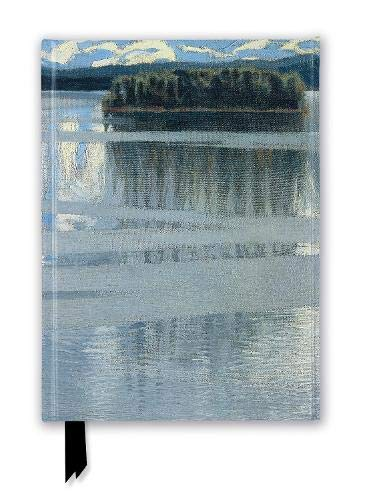 NG: Lake Keitele by Akseli Gallen-Kallela (Foiled Journal) (Flame Tree Notebooks)