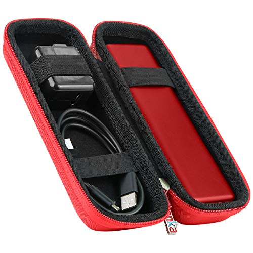 Khanka Hard Travel Case Replacement for Anker PowerCore II 20100 Speed Quick Charge 3.0 20100mAh Portable Charger External Battery Power Bank (red)