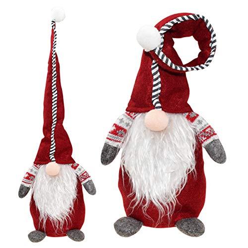 unknow Plüsch Puppet-Puppe WeißE Weihnachts-Ornamente White Feather Angel Doll Zoll...