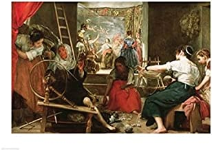 Posterazzi BALXJL187595LARGE The Spinners Poster Print by Diego Velazquez 36 x 24