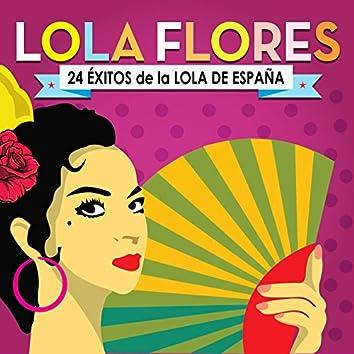 Lola Flores. 24 Éxitos de la Lola de España