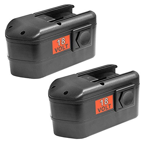 2 Pack 18v 2000mAh NiCd Battery for Milwaukee 48-11-2230 48-11-2200 48-11-2232 Chicago Pneumatic 8940158631