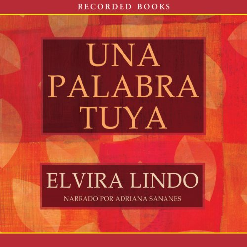 Una palabra tuya [A Word from You] audiobook cover art