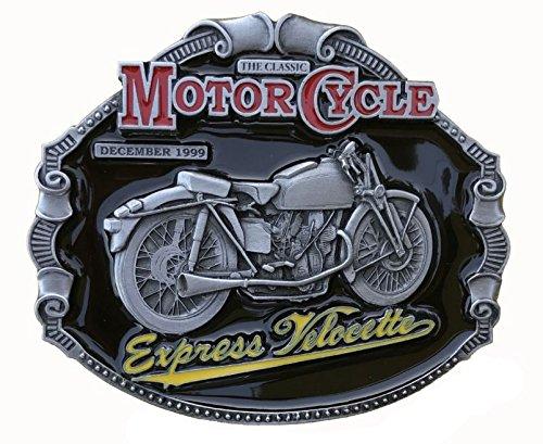 Classic Express Velocette motard Moto Boucle en métal