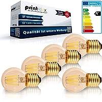 3 Jahre Garantie (Herstellergarantie) ! Hochwertige LED Leuchtmittel Filament Vintage E14 4W Warmweiß - Birnenform klein G45 Nicht Dimmbar LED Leuchtmittel Filament Vintage E14 4W 2200K - Birnenform klein G45