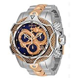 Invicta 31518 Men's Reserve Venom Blue and Rose Gold Dial Watch