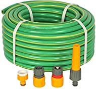 HOZELOCK FLEXIBLE HOSE PIPE: This robust 100ft hose pipe from Hozelock provides optimal flexibility and bounces back into shape effortlessly. The nozzle is adjustable, providing a jet or fine mist spray. NON KINK HOSEPIPE: The Hozelock Ultraflex 30m ...