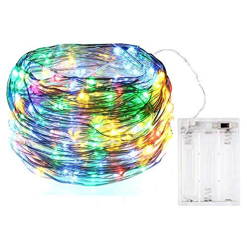 Bolweo Guirlande lumineuse à LED 3 m, Multicolore, 1
