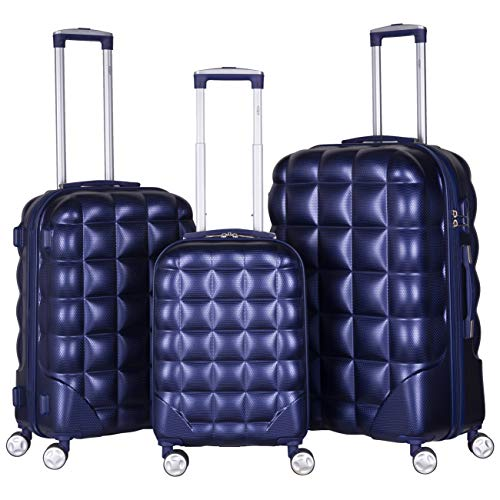 Flight Knight Bubble Suitcase Ryanair easyJet Jet2 Approved Hardcase Suitcases Cabin Medium Large Options Avaliable in a Variety of Colours