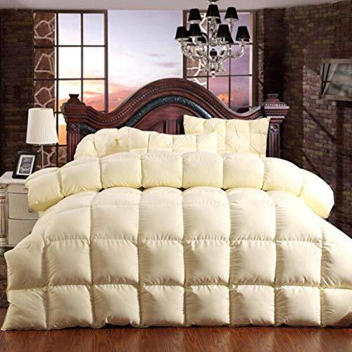 100% Goose Down Comforter Duvet Winter Down Blanket Feather Bed Soft Winter Quilt Blanket Cotton Cover Comforter