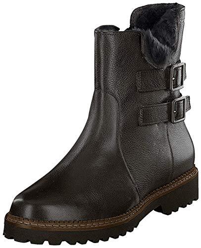 Sioux Vesinka-Lf, Damen Kurzschaft Stiefel, Schwarz (Schwarz), 37 EU (4 UK)