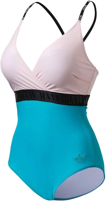LFY Damen Einteiliger Badeanzug Bedeckt Belly Slim (gre   S)