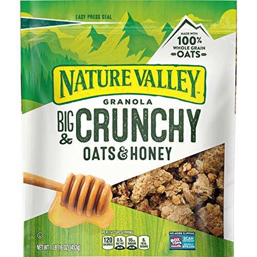 Nature Valley Granola Crunch, Clusters, Oats