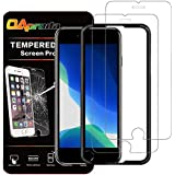 【SE 2020専用】OAproda iPhone SE 第2世代(2020)/SE2 ガラスフィルム SE 第二世代 強化ガラス液晶保護フィルム 4.7inch 【浮きなし/9H硬度/ガイド付き】2枚セット