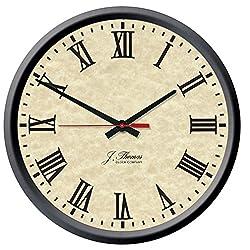 J. Thomas Tesla Electric Wall Clock 13 - Made in The USA!