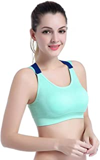 UXZDX Lovely Push Up Sports Bra XL for Women Cross Straps Wireless Padded Comfy Gym Bra Yoga Underwear Active Wear Workout...