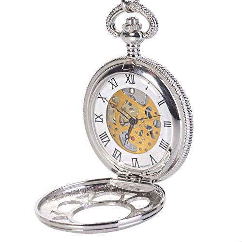 steampunk pocket watch amazon