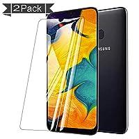 【2枚セット】NUPO Samsung Galaxy A30 SCV43 ガラスフィルム 2.5D 硬度9H 飛散防止 指紋防止 高感度タッチ 極高透過率 旭硝子製 耐衝撃 au Galaxy A30 SCV43 強化ガラス液晶保護フィルム