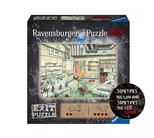 Exit Puzzle - Set: Das Labor - 368 Teile +1x Exit-Sticker