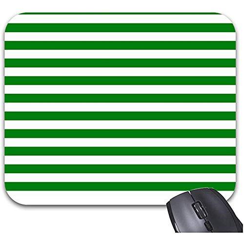 Smity groen gestreepte achtergrond muismat 30 * 25 * 0,3 cm muismat mode ontworpen muismatten Trendy Office bureaublad accessoire