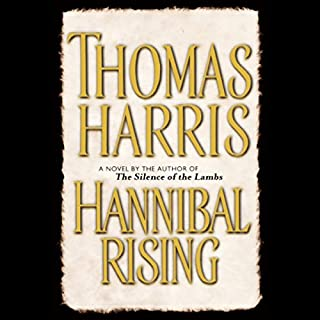 Hannibal Rising audiobook cover art