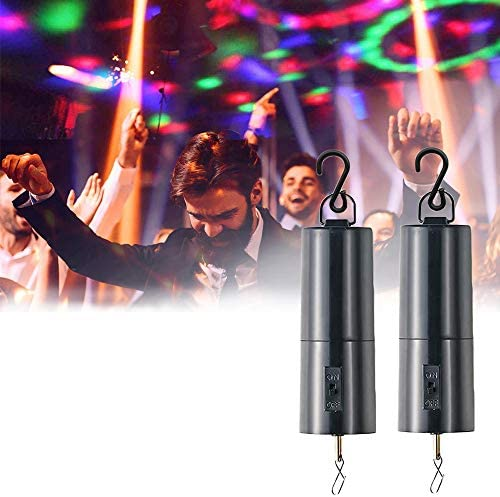 N V Disco Ball Motor 2 Pcs Mirror Ball Motor and Ornament Spinner Hanging Wind Spinners Rotating product image