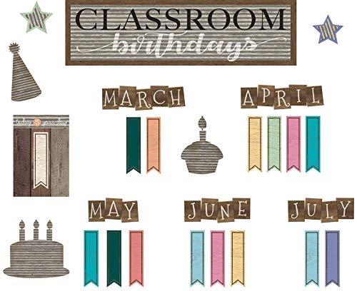 Teacher Created Resources Home Sweet Classroom Birthday Mini Bulletin Board (TCR8817)