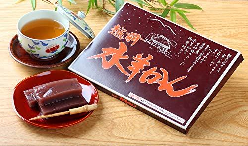 【福井名産】黒砂糖のあっさりした甘さの「水ようかん」【水羊羹】【福井】【名物】