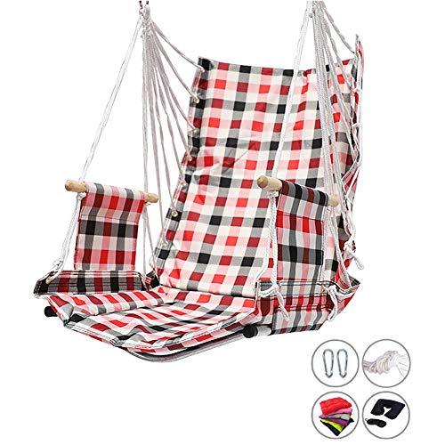 Balançoires YXX Chaise de Dossier d'hamac Haute 75 cm, capacité de 264lbs de Chaise pivotante à la Maison (Color : Style-1)