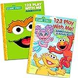 Sesame Street Elmo Coloring Book Set (2 Books)