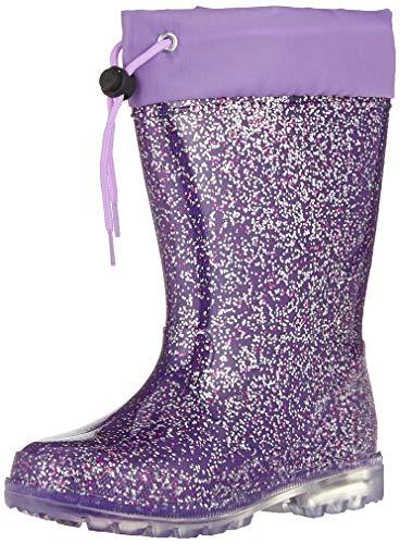 Lico Mädchen Powerlight W Blinky Gummistiefel, Violett (Lila/Pink/Silber Lila/Pink/Silber), 32 EU