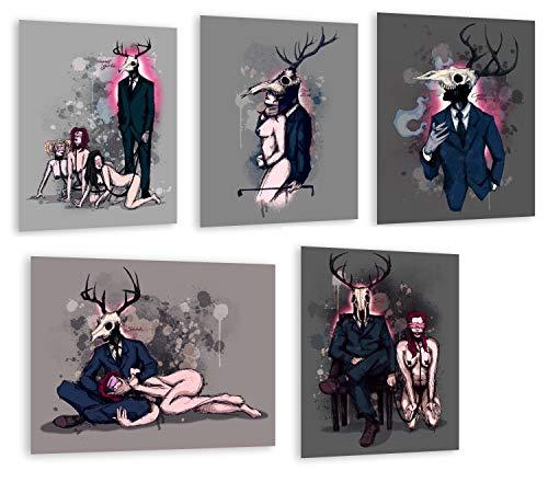 Deer Daddy Entire 5 Print Series 1