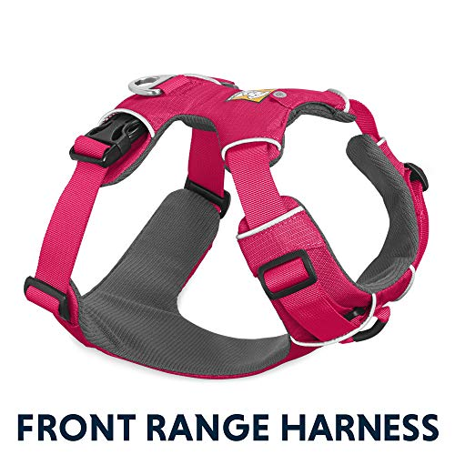 Ruffwear - Front Range No-Pull Dog Harness with Front Clip, Wild Berry (2017), X-Small