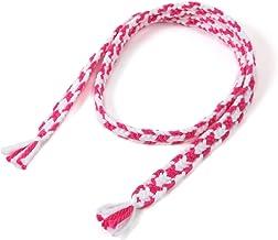 2020年バージョン(太い2色)ピンク。飛騨高山の組紐のブランド【くみひだ】。君の名は。の聖地、飛騨の職人の手作り。