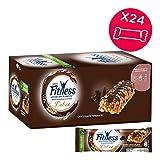 FITNESS Delice Cioccolato Fondente Barretta di Cereali Integrali con Cioccolato...