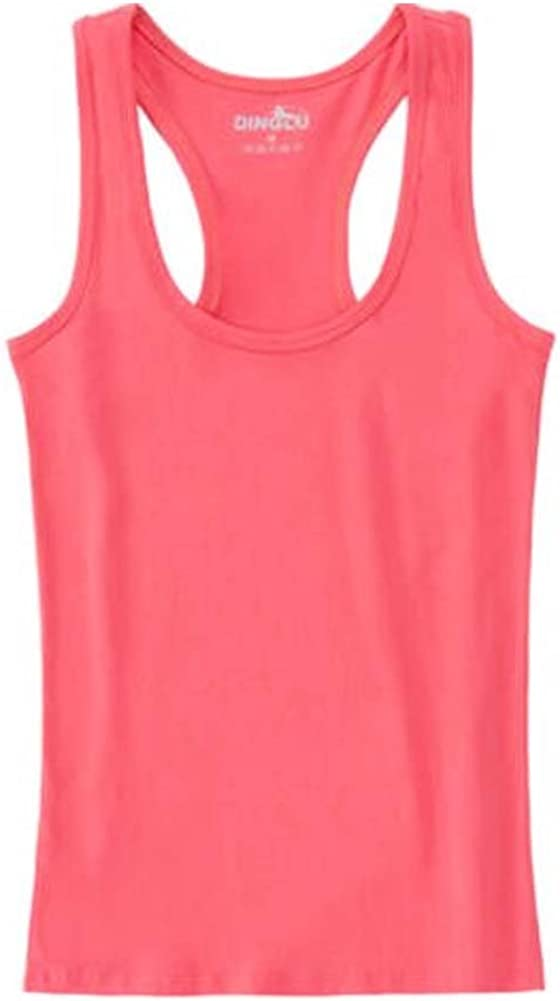 George Jimmy Sexy Skinny Tank Top Fashion Women's Camisole Soft Vest, 3 Red